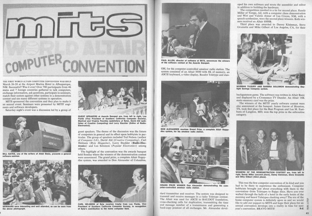 MITS Altair Convention