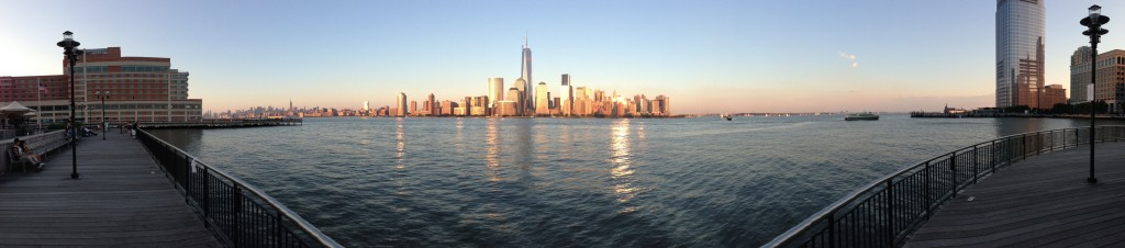 Lower Manhattan Panorama because I am in Jersey City, NJ tonight.