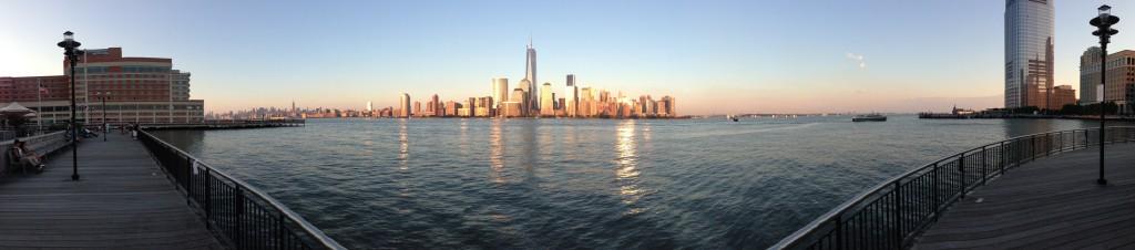 Lower Manhattan Panorama because I am in Jersey City, NJ tonight.