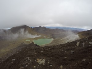Tongariro National Park: Emerald Lake